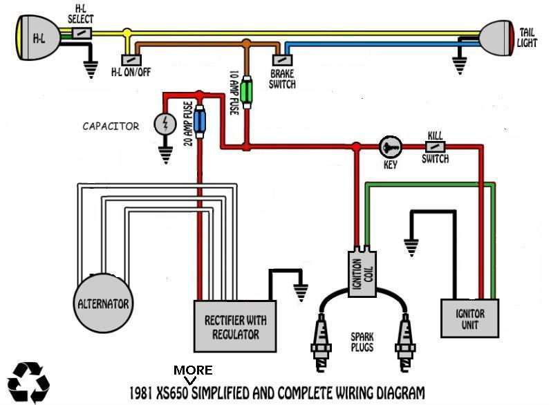 harley ignition wiring diagram with car