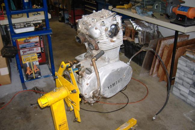 Engine Stand Yamaha Xs650 Forum